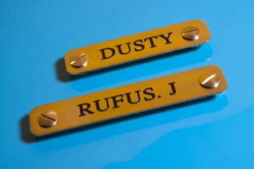 Head Collar Name plates
